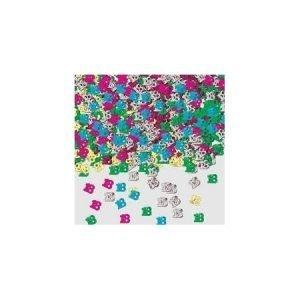 Age 18 foil confetti