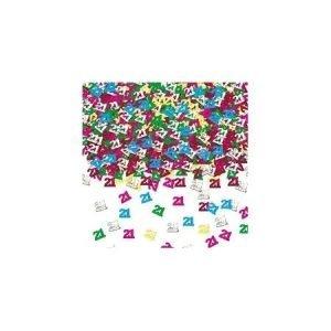 Age 21 foil confetti