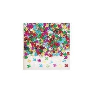 Age 30 foil confetti
