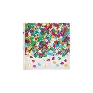 Age 40 foil confetti