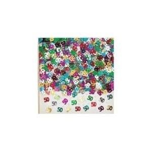 Age 50 foil confetti