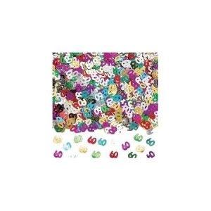 Age 60 foil confetti