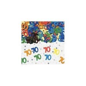 Age 70 foil confetti