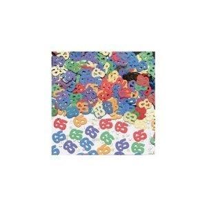 Age 65 foil confetti