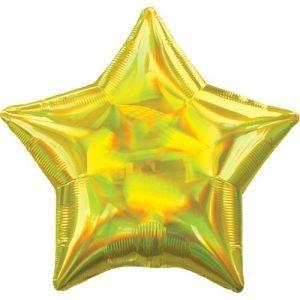 Star helium balloon