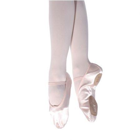 Satin Split Sole Ballet Shoes (Senior)
