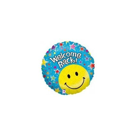 18 inch Welcome Back Balloon