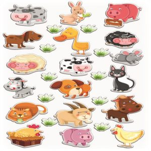 Cooky Stickers - Farm Animals