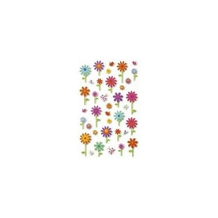 Cooky Stickers - Stemmed Flowers