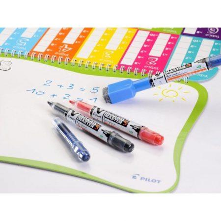 Pilot 4 Whiteboards & 2 Markers School Set