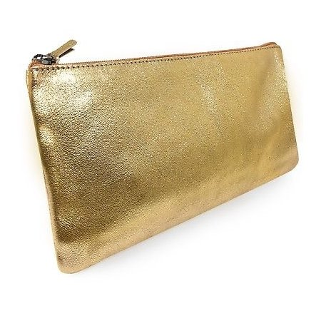 Clairefontaine Metallic Pencil Case - Gold