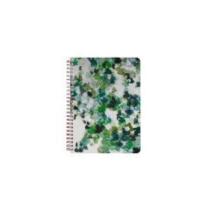 Clairefontaine A5 Wirebound Lined Notebook - Hedera Leaves