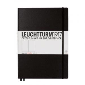 Leuchtturm 1917 A4 Master Slim Notebook - Plain