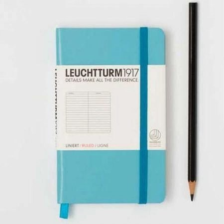 Leuchtturm 1917 A6 Pocket Notebook - Lined