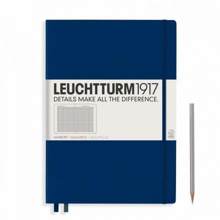 Leuchtturm 1917 A4 Master Slim Notebook - Squared