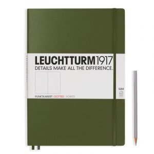 Leuchtturm 1917 A5 Medium Notebook - Lined
