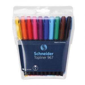 Schneider Topliner 967 Fineliners x 10