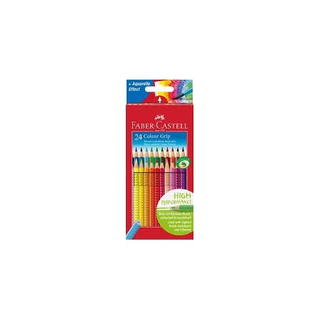 Faber Castell Grip Colouring Pencils x 24