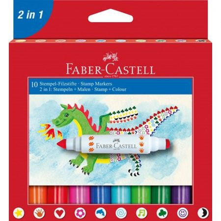 Faber Castell Stamp Markers x 10