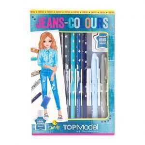 Top Model Colouring Pens & Pencils - Jean Colours