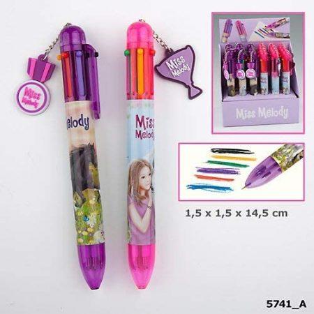 Miss Melody Six-Colour Rainbow Pen