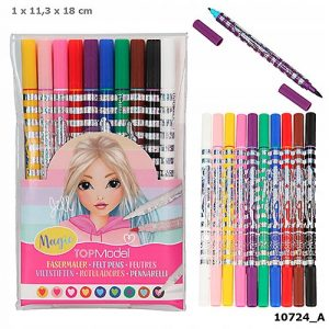 Top Model Double-Ended Magic Pens x 10