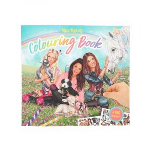 Miss Melody Colouring Book with Stickers