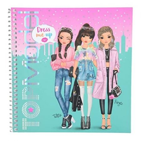 Top Model Dress Me Up Sticker Book (Talita, Nyela & Fergie)