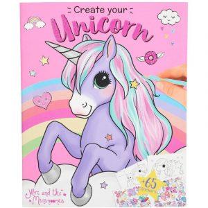 Create Your Unicorn Sticker & Colouring Book