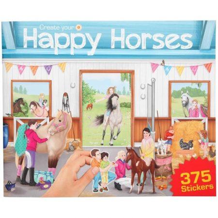 Create Your Happy Horse Sticker Book