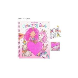 Princess Mimi Sequin Colouring Book