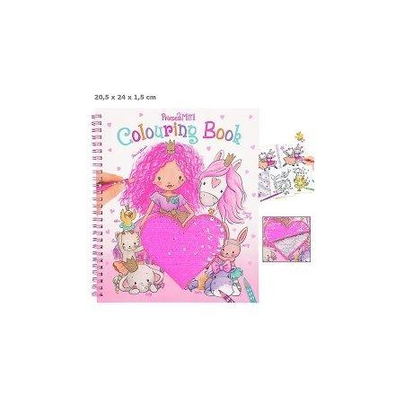Princess Mimi Sequin Colouring Book