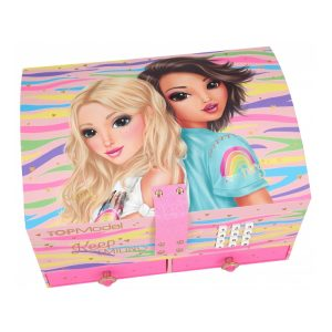 Top Model Keep Smiling Lockable Jewellery Box