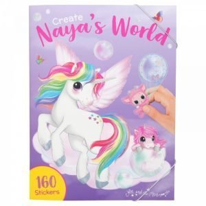 Create Naya's World Sticker Book