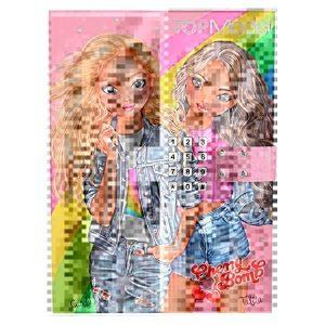 Top Model Cherry Bomb Lockable Diary (Candy & Talita)