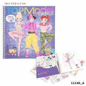 Top Model Dress Me Up Sticker Book - Dance