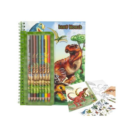 Dino World Activity Book