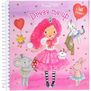 Princess Mimi Dress Me Up Sticker Book