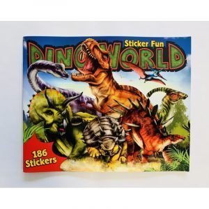 Dino World Sticker Book - 190 Stickers