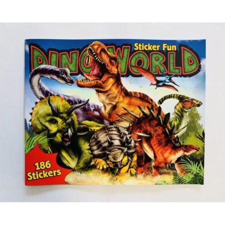 Dino World Sticker Book - 190 Stickers