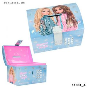 Top Model Lockable Coin Bank (Candy & Hayden)