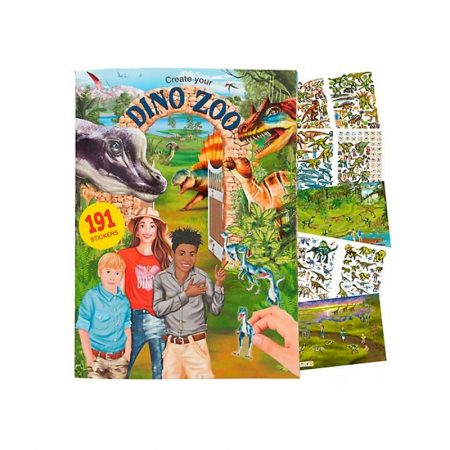 Dino World Create Your Dino Zoo