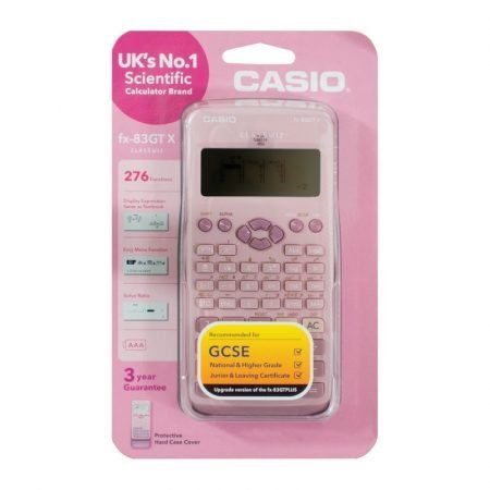Casio Scientific Calculator fx-83GTX - Pink