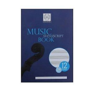 Silvine A4 Music Manuscript Book