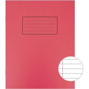 A5 Exercise Book - 80 pages - Red