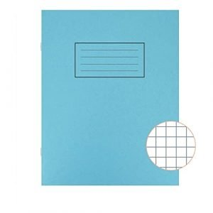 A5 Exercise Book - 80 pages - Blue