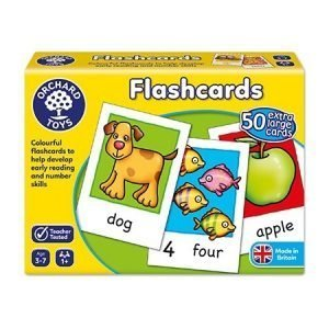 Orchard Toys Flashcards x 50 Double Sided