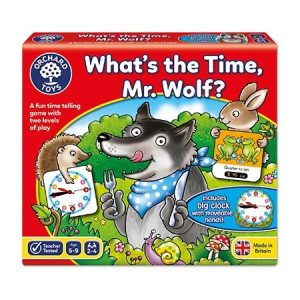 Orchard Toys What's The Time Mr Wolf?