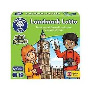 Orchard Toys Landmark Lotto Mini Game