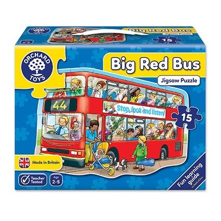 Orchard Toys Big Red Bus Jigsaw